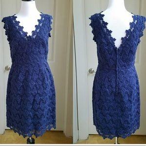 Lily Pulitzer Dress size 6 butterfly crochet